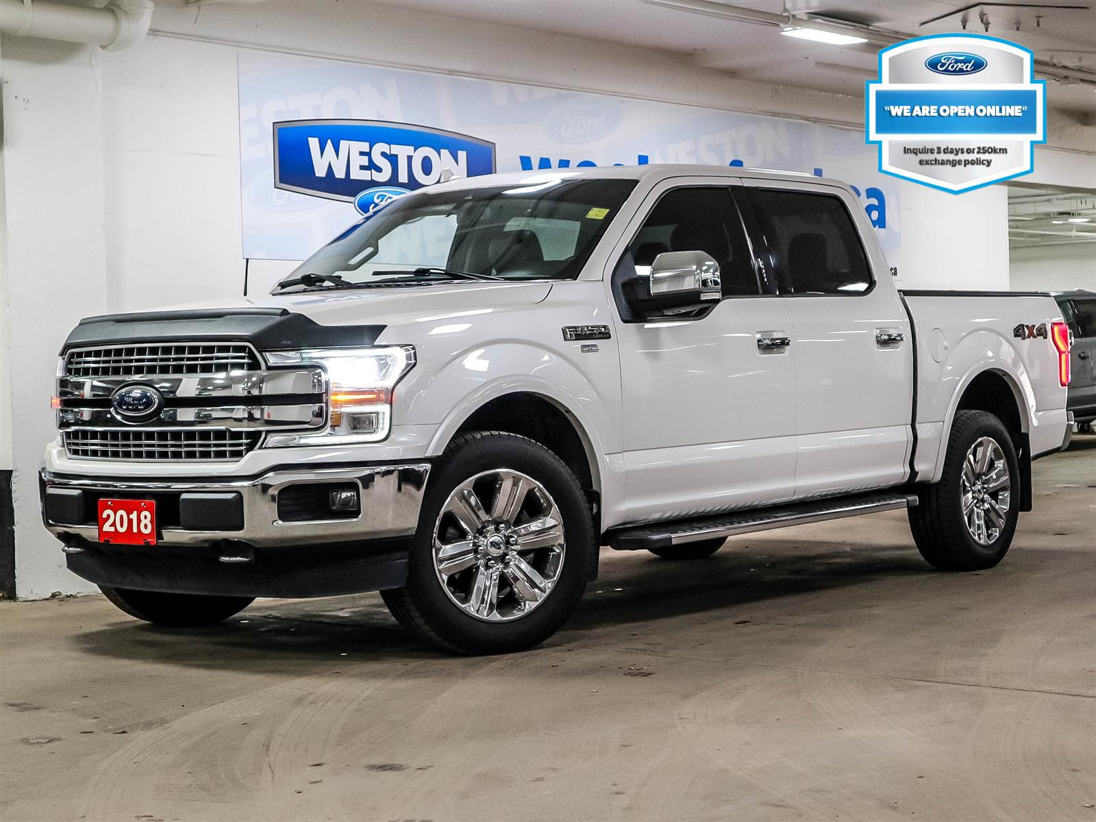 used 2018 Ford F-150 car, priced at $47,488