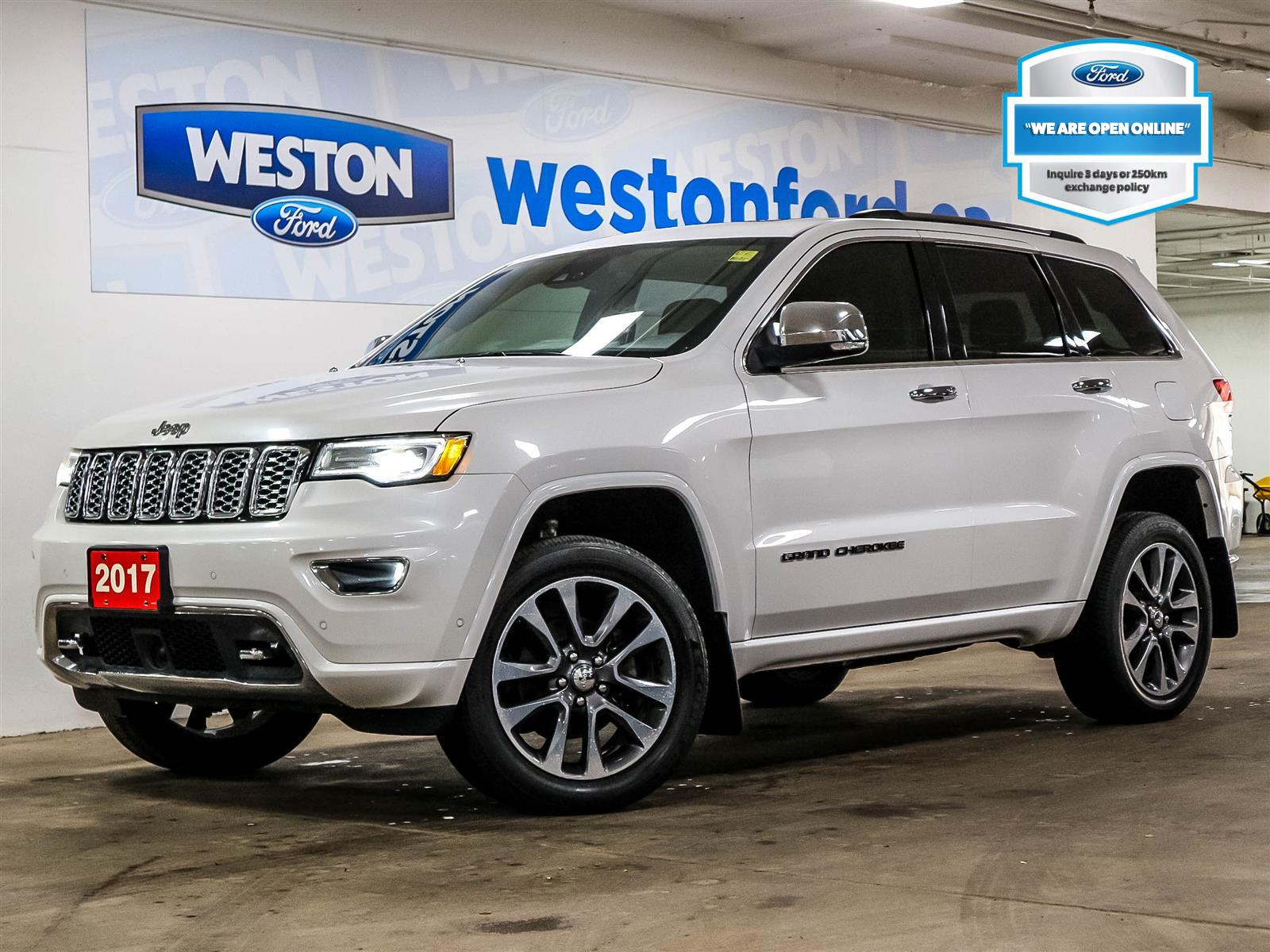 used 2017 Jeep Grand Cherokee car, priced at $33,788