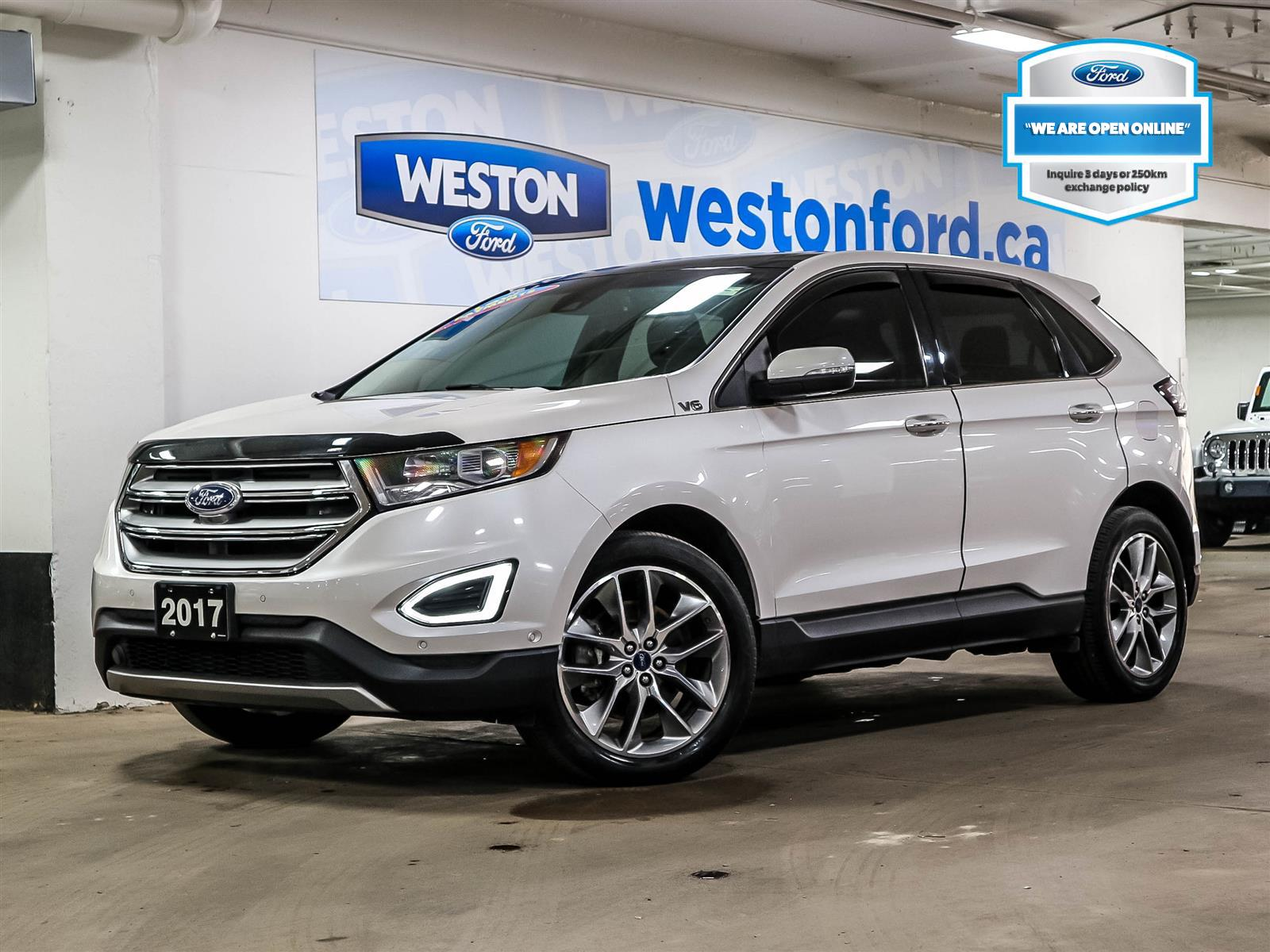 used 2017 Ford Edge car, priced at $28,988