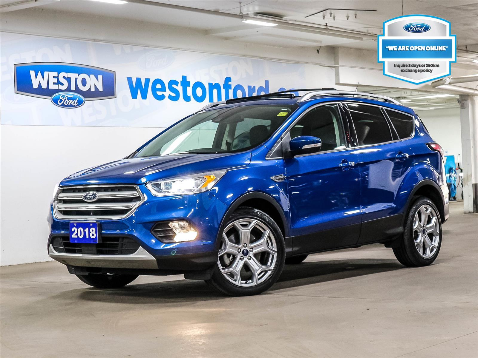used 2018 Ford Escape car, priced at $26,988