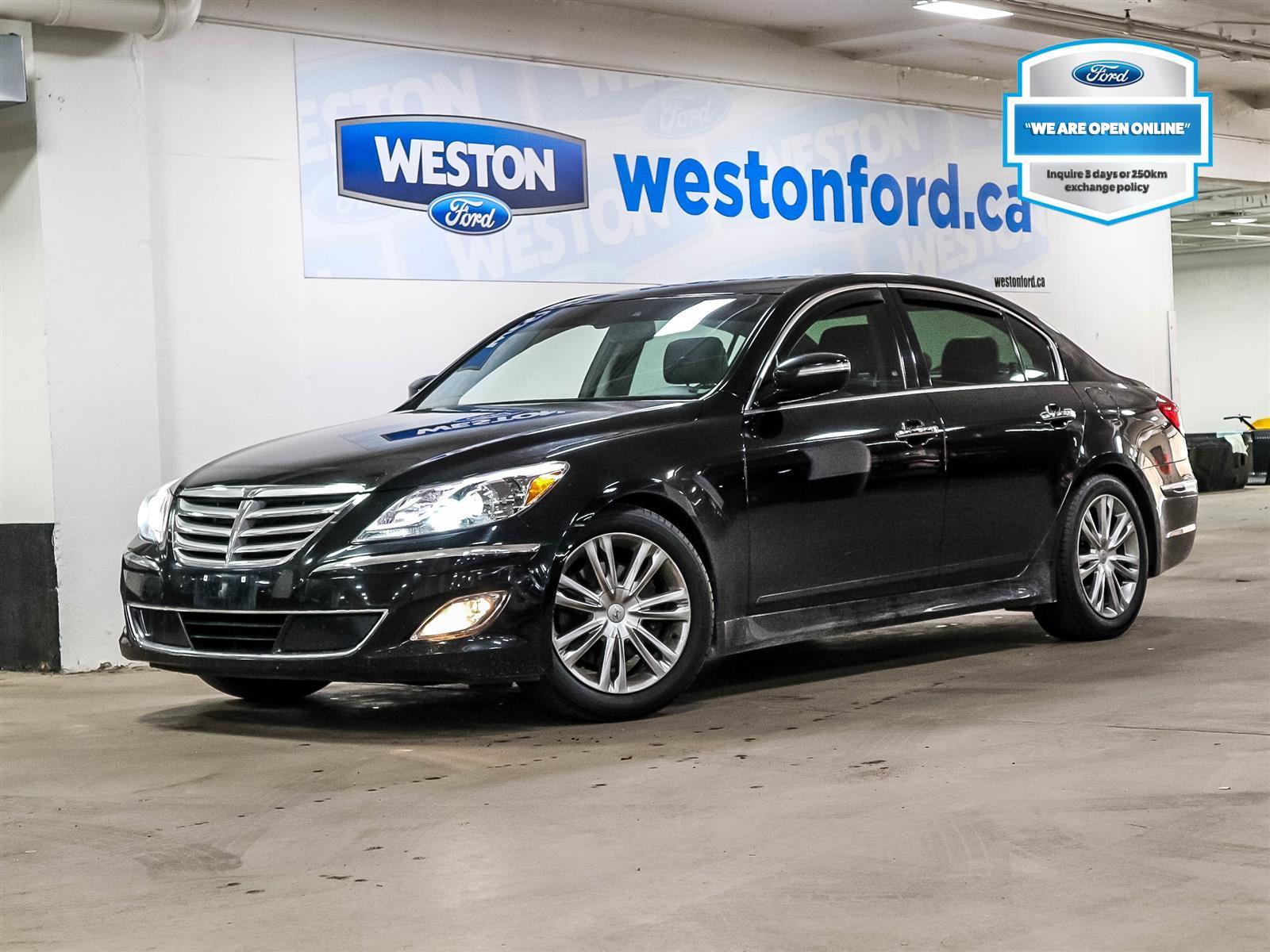 used 2013 Hyundai Genesis car, priced at $15,988